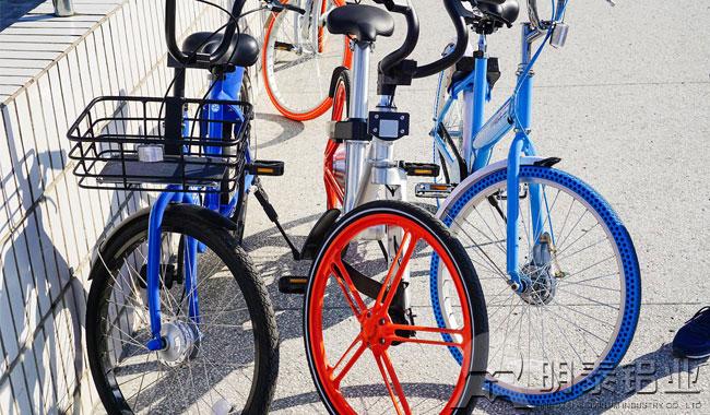 明泰高强度5754铝板成为共享单车首选用铝