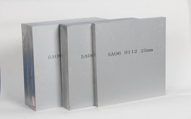 明泰铝业采用木托包装保护5A06铝板不受损