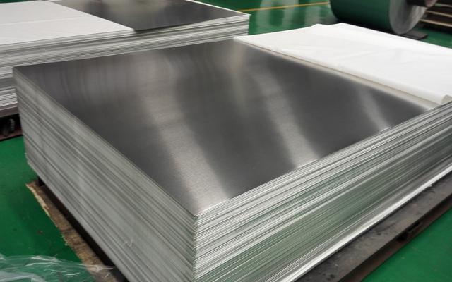 最适易拉伸氧化的明泰5052铝板