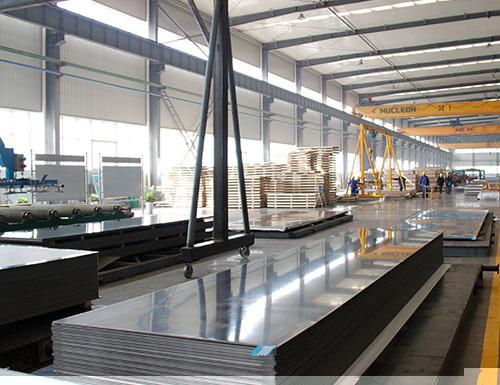 明泰铝业集团为您解说5052铝板上的黑丝问题产生原因