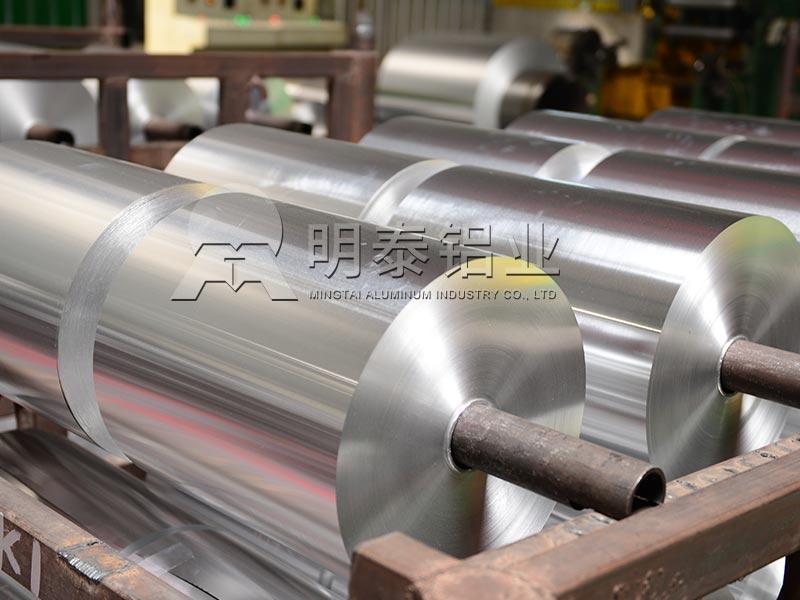 8011铝箔厂家-餐盒用铝箔厂家直销1吨的价格介绍