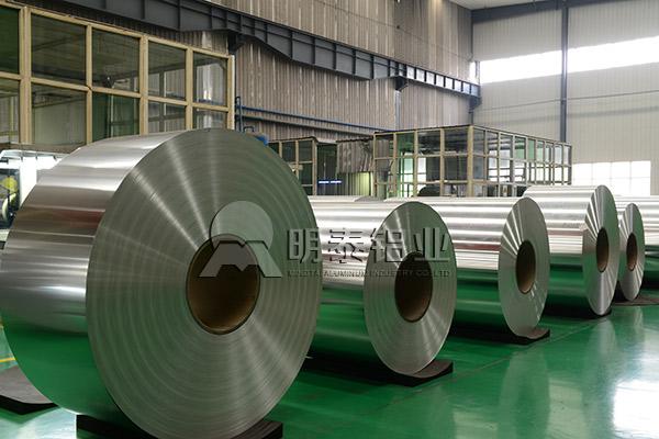 明泰防静电铝箔袋基材_1060铝箔厂家
